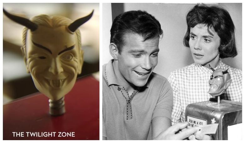 """The Twilight Zone"": ""Replay"" (left) and ""Nick of Time"" (right)"