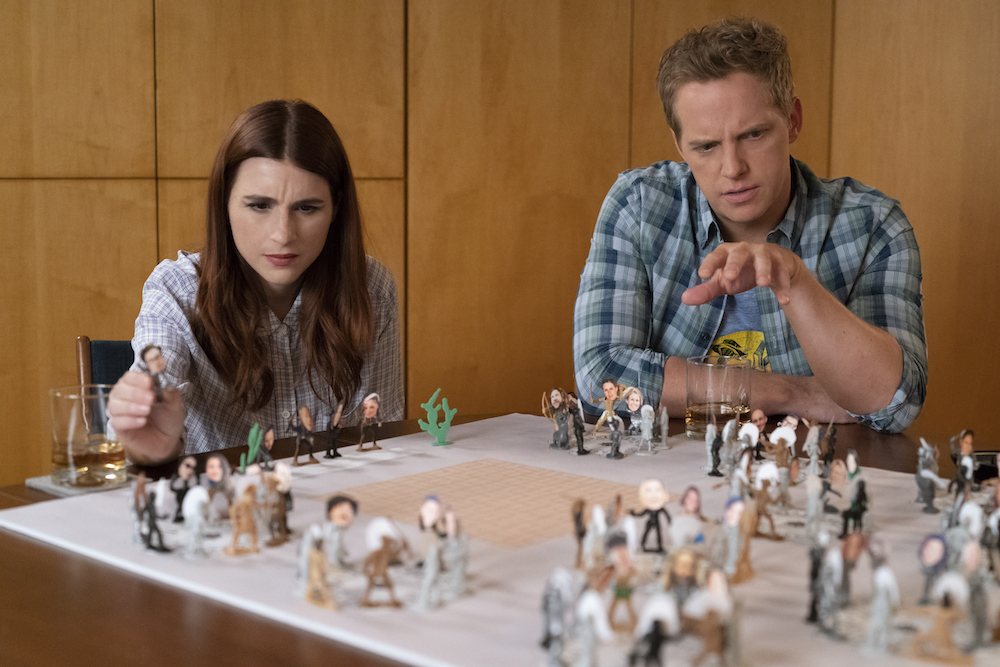 "YOU'RE THE WORST -- ""This Brief Fermata"" - Season 5, Episode 6 (Airs February 13, 10:00 pm e/p) Pictured (l-r): Aya Cash as Gretchen, Chris Geere as Jimmy. CR: Byron Cohen/FXX"