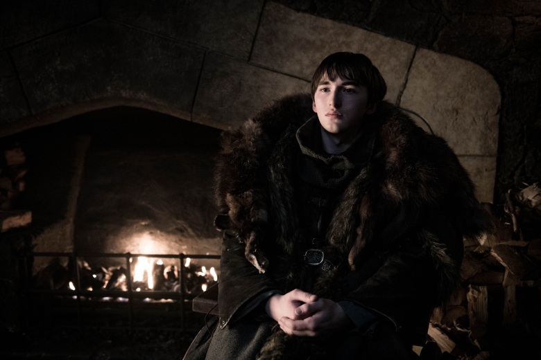 "Isaac Hempstead Wright in ""Game of Thrones."""