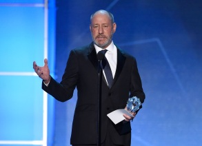 Steve Golin accepts the award for best picture for â?œSpotlightâ?? at the 21st annual Critics' Choice Awards at the Barker Hangar, in Santa Monica, CalifAPTOPIX 21st Annual Critics' Choice Awards - Show, Santa Monica, USA - 17 Jan 2016