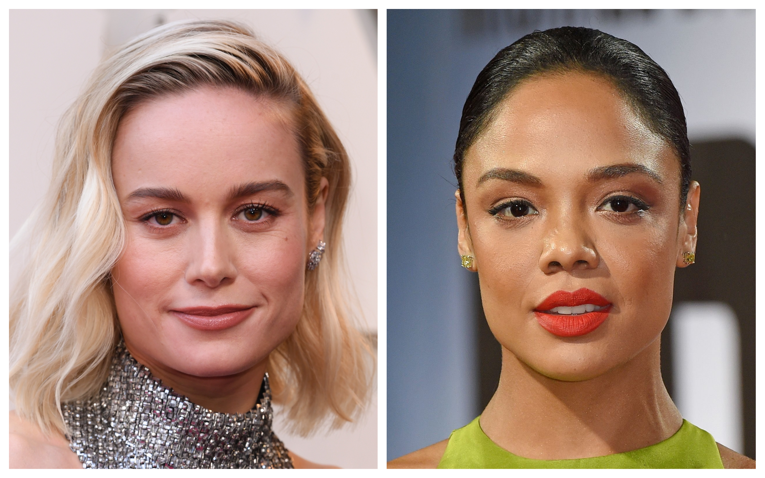 Tessa Thompson Says Marvel Co-Star Brie Larson Is Helping Make 'Real Systemic Change in Hollywood'