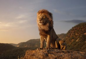 "THE LION KING - Featuring the voices of James Earl Jones as Mufasa, and JD McCrary as Young Simba, Disney's ""The Lion King"" is directed by Jon Favreau. In theaters July 29, 2019.© 2019 Disney Enterprises, Inc. All Rights Reserved."