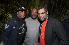 Spike Lee, John Singleton, and Jordan Peele