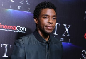 Chadwick BosemanThe State of the Industry: Past, Present and Future, STX films, CinemaCon, Las Vegas, USA - 02 Apr 2019