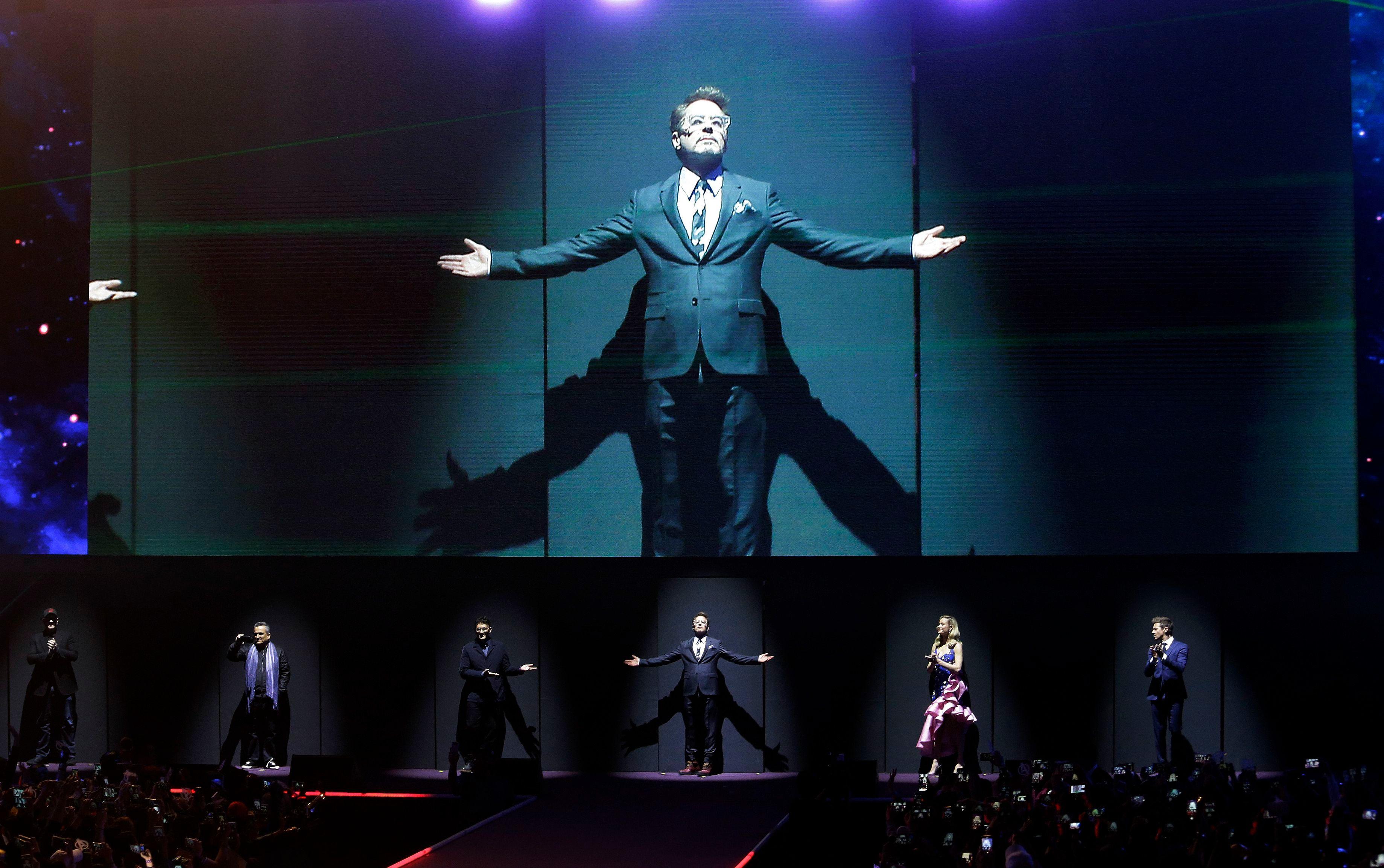 'Avengers: Endgame' Press Tour: Anaheim, London, and Seoul