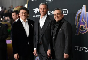 Anthony Russo, Bob Iger and Joe Russo'Avengers: Endgame' Film Premiere, Arrivals, LA Convention Center, Los Angeles, USA - 22 Apr 2019