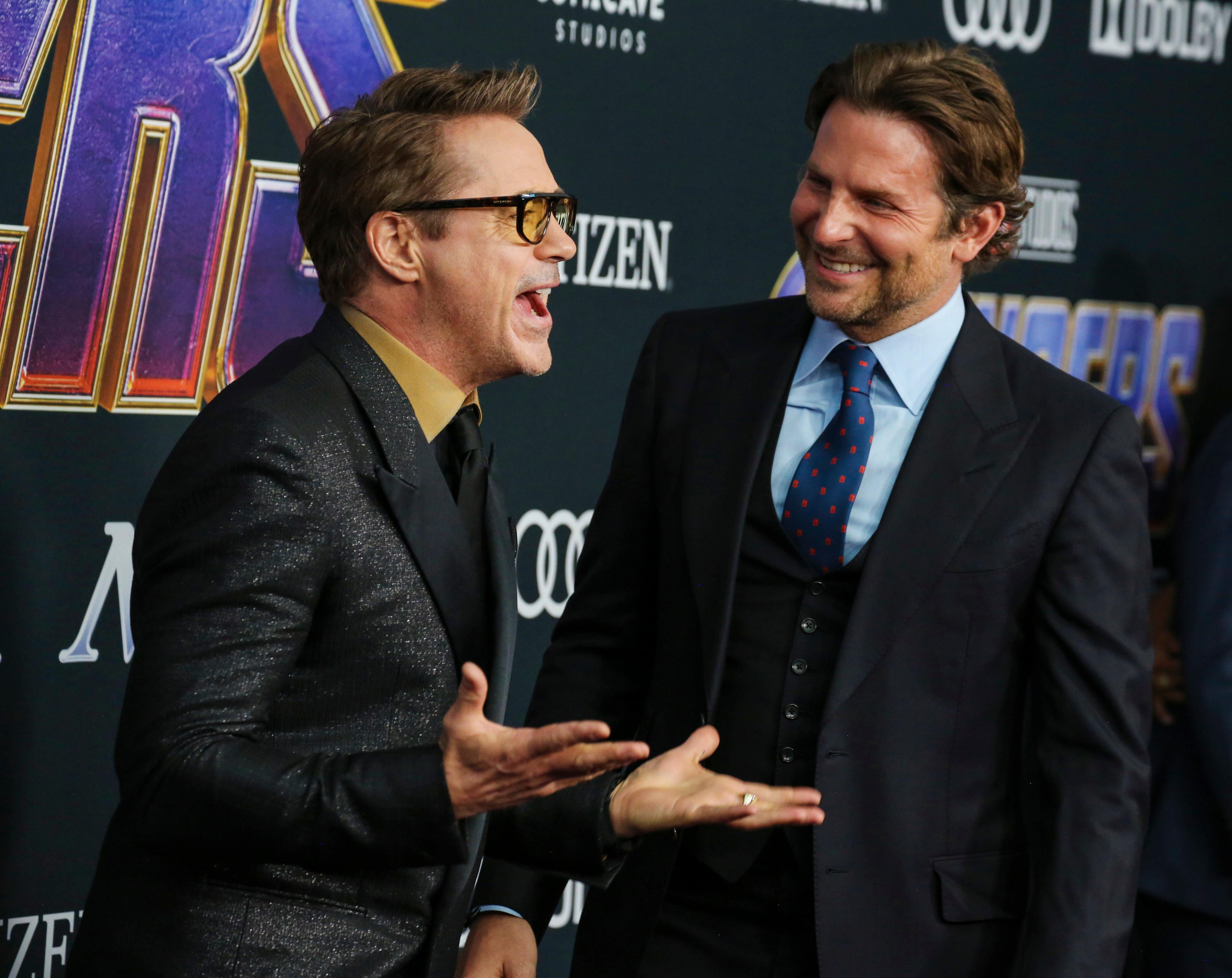 Robert Downey Jr. and Bradley Cooper'Avengers: Endgame' Film Premiere, Arrivals, LA Convention Center, Los Angeles, USA - 22 Apr 2019