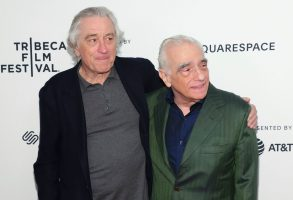 "Robert De Niro, Martin Scorsese. Actor Robert De Niro, left, and director Martin Scorsese attend ""Tribeca Talks - Director Series - Martin Scorsese with Robert De Niro"" during the 2019 Tribeca Film Festival at the Beacon Theatre, in New York2019 Tribeca Film Festival - ""Tribeca Talks - Director Series - Martin Scorsese with Robert De Niro"", New York, USA - 28 Apr 2019"