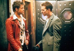 Editorial use only. No book cover usage.Mandatory Credit: Photo by Moviestore/REX/Shutterstock (1579590a)Fight Club, Brad Pitt, Edward NortonFilm and Television