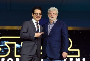 J.J. Abrams George Lucas Star Wars the Force Awakens