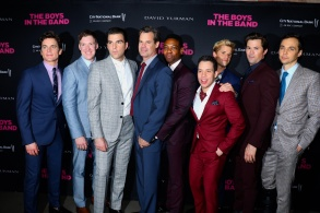 Matt Bomer, Brian Hutchison, Zachary Quinto, Tuc Watkins, Michael Benjamin Washington, Robin De Jesus, Charlie Carver, Andrew Rannells, Jim Parsons'The Boys In The Band' 50th Anniversary celebration, New York, USA - 30 May 2018