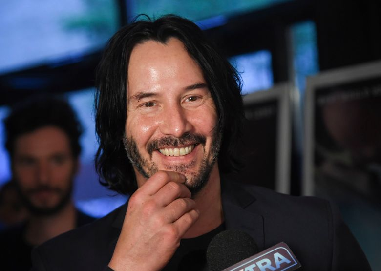 "Keanu Reeves attends the premiere of ""Siberia"" at Metrograph, in New YorkNY Premiere of ""Siberia"", New York, USA - 11 Jul 2018"