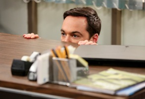 """The Change Constant"" - Pictured: Sheldon Cooper (Jim Parsons). Sheldon and Amy await big news, on the series finale of THE BIG BANG THEORY, Thursday, May 16 (8:00-8:30PM, ET/PT) on the CBS Television Network. Photo: Michael Yarish/Warner Bros. Entertainment Inc. © 2019 WBEI. All rights reserved."