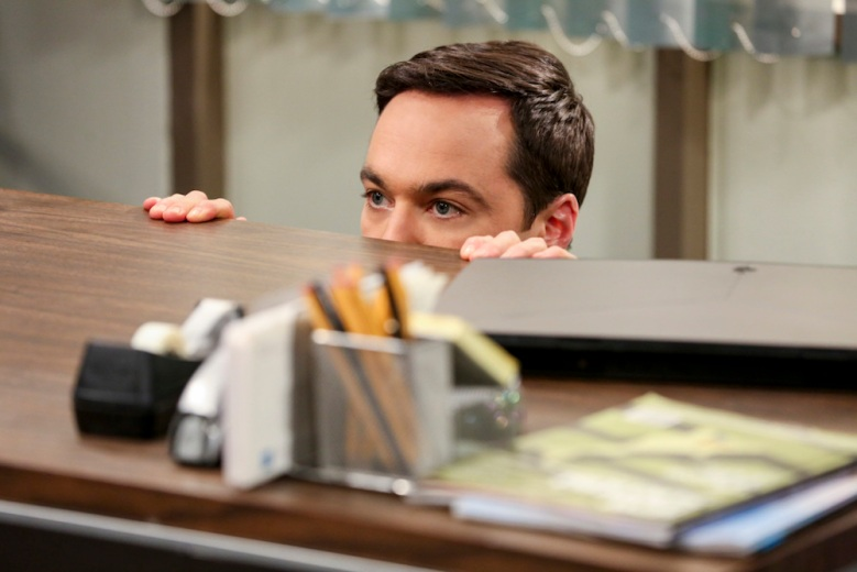 """""""The Change Constant"""" - Pictured: Sheldon Cooper (Jim Parsons). Sheldon and Amy await big news, on the series finale of THE BIG BANG THEORY, Thursday, May 16 (8:00-8:30PM, ET/PT) on the CBS Television Network. Photo: Michael Yarish/Warner Bros. Entertainment Inc. © 2019 WBEI. All rights reserved."""