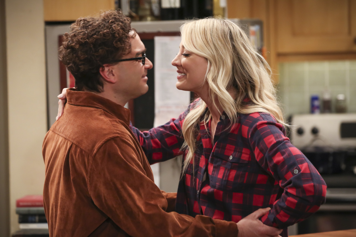 The Big Bang Theory Series Finale Johnny Galecki Kaley Cuoco