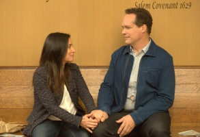 """Better Things"" Pamela Adlon and Diedrich Bader"