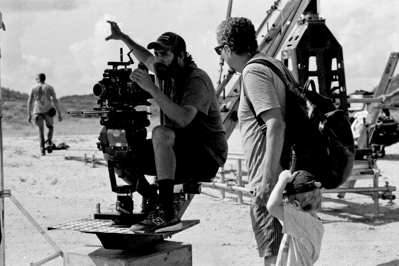 """Bacurau"" DP Pedro Sotero and director Kleber Mendonça"