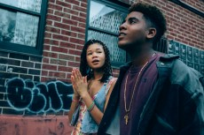 Storm Reid as Lisa and Jharrel Jerome as Korey Wise