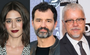 Castle Rocks Season 2 Lizzy Caplan, Greg Yaitanes, and Tim Robbins