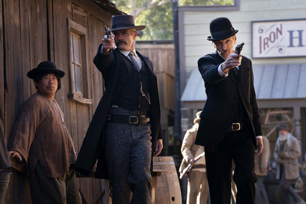 Deadwood Timothy Olyphant John Hawkes