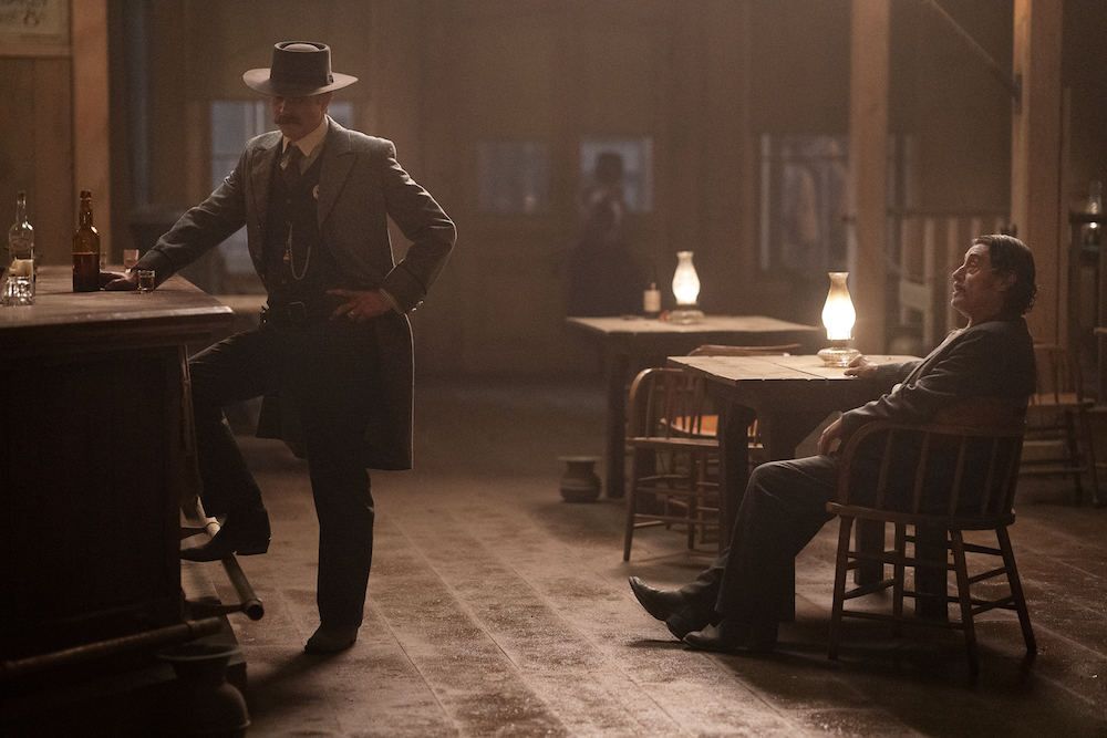 Deadwood Timothy Olyphant Ian McShane