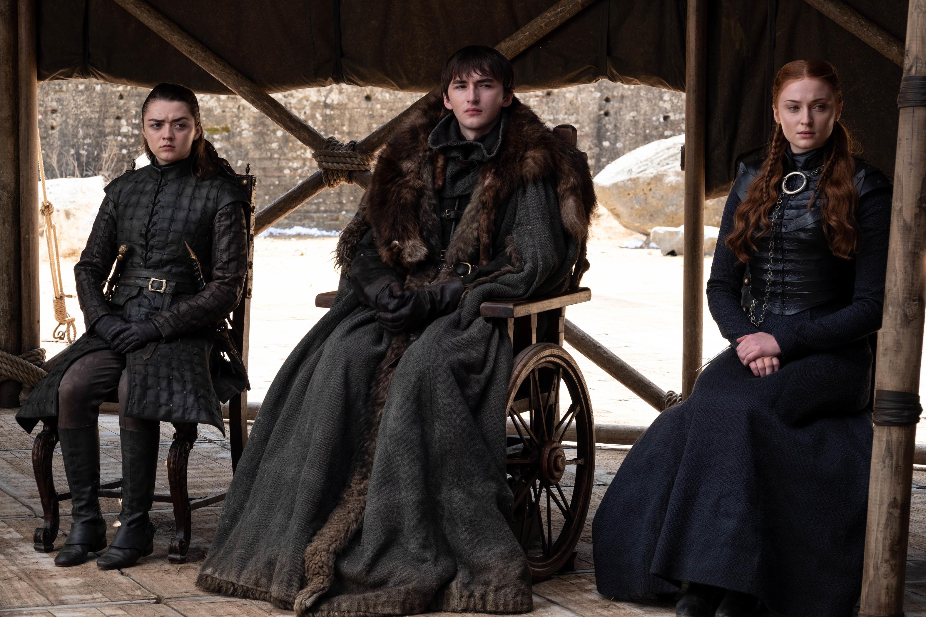 Game of Thrones Arya Bran Sansa