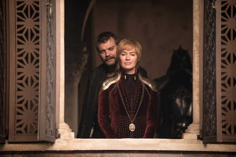 "Pilou Asbaek and Lena Headey, ""Game of Thrones"""