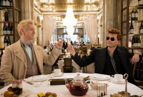 Good Omens Amazon Prime Michael Sheen David Tennant