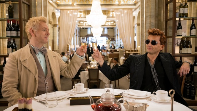 Good Omens' (Amazon) Review: David Tennant Is Heavenly