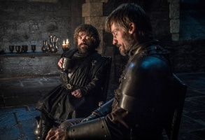 "Peter Dinklage and Nikolaj Coster-Waldau, ""Game of Thrones"""