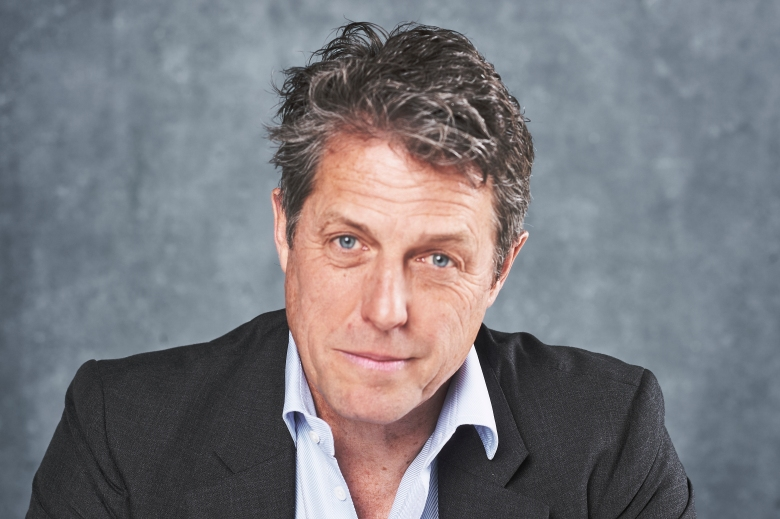 Actor Hugh Grant poses for a portrait at PMC Studios on April 27, 2019 in Los Angeles Californai.