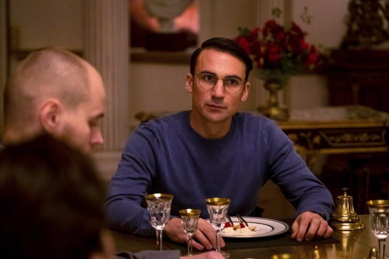 Marko Leht as Evgeny, Henry Lloyd-Hughes as Aaron Peel - Killing Eve _ Season 2, Episode 7 - Photo Credit: Gareth Gatrell/BBCAmerica
