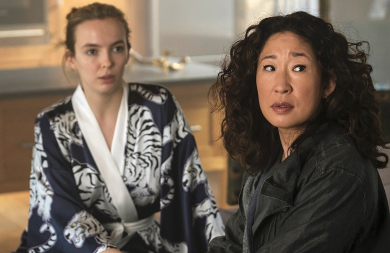 "Jodie Comer and Sandra Oh, ""Killing Eve"""