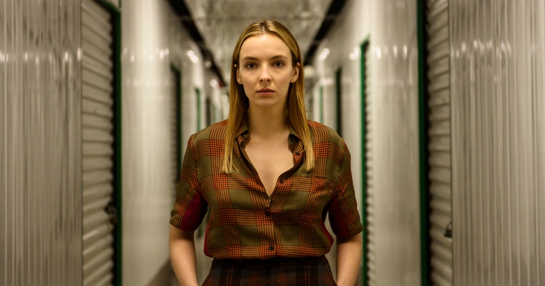 Jodie Comer as Villanelle - Killing Eve _ Season 2, Episode 7 - Photo Credit: Parisa Taghizadeh/BBCAmerica