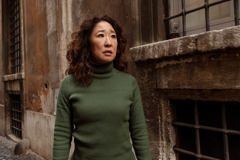 Sandra Oh as Eve Polastri - Killing Eve _ Season 2, Episode 8 - Photo Credit: Gareth Gatrell/BBCAmerica