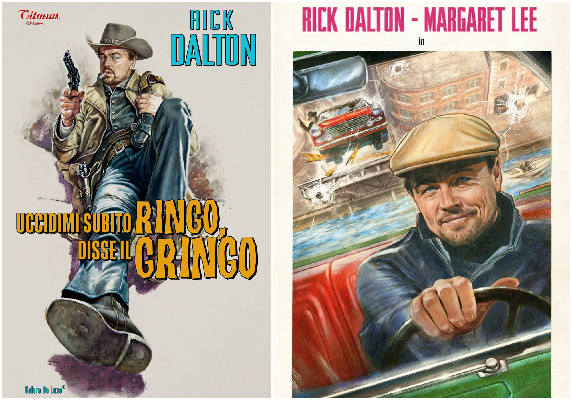 New 'Once Upon a Time in Hollywood' Posters Show Off Leonardo DiCaprio's Aging TV Star