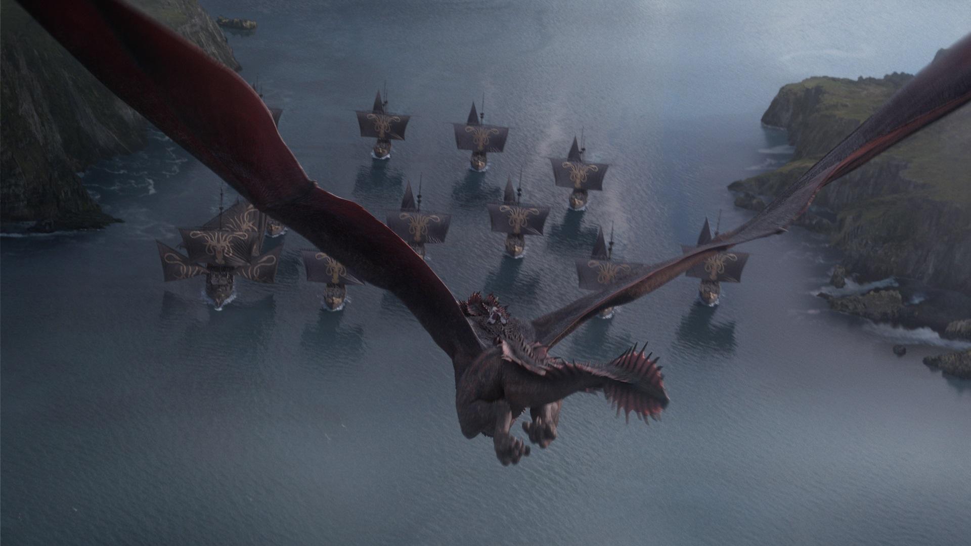 'Game of Thrones': Weta Digital's Work on Rhaegal and the ...