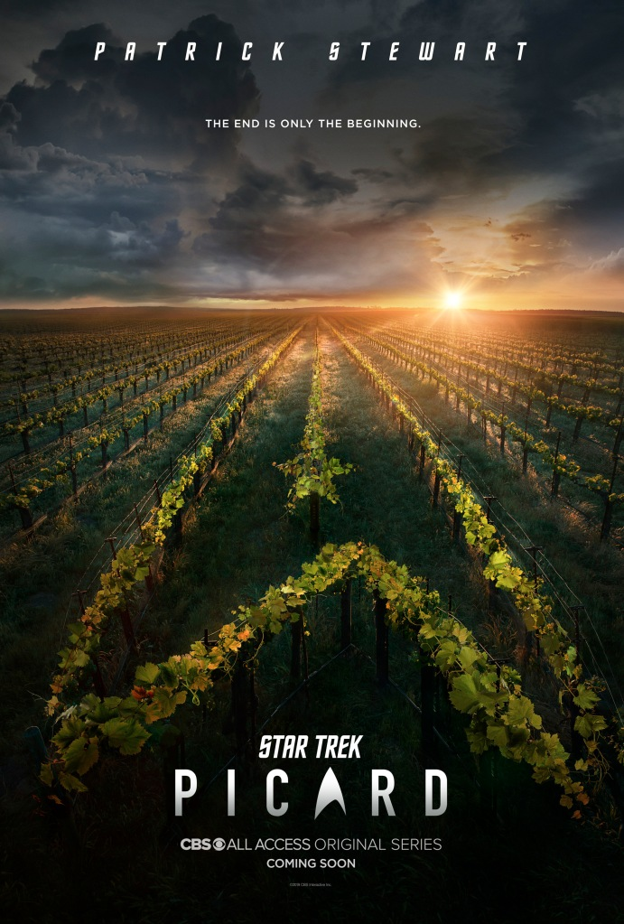 STAR TREK: PICARD -- Key ArtPhoto Cr: James Dimmock/CBS ©2019 CBS Interactive, Inc. All Rights Reserved.