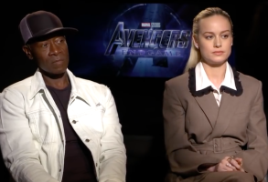 Don Cheadle and Brie Larson