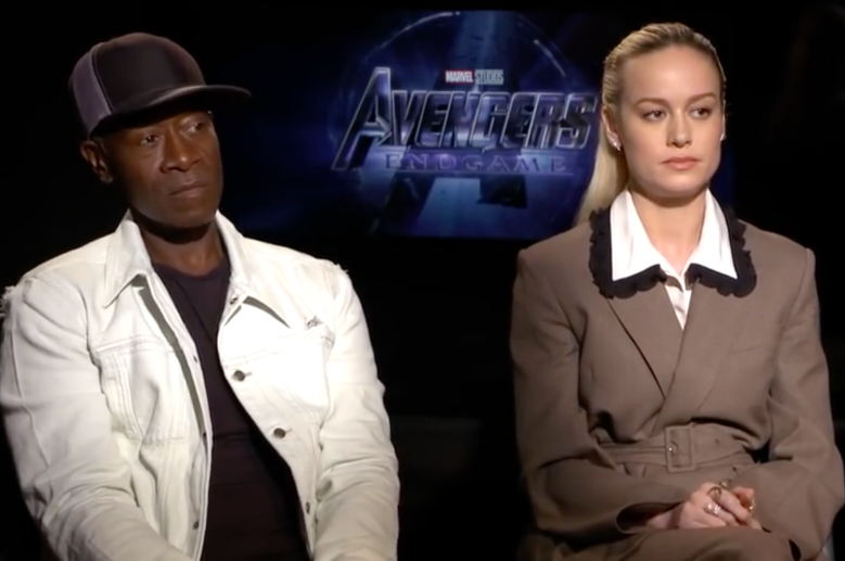 Don Cheadle Sticks Up for Brie Larson Over Body Language