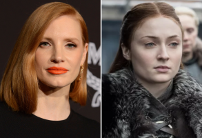 Jessica Chastain and Sophie TurnerJessica Chastain and Sophie Turner