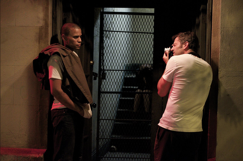 "Michael Ealy & Dir. David M. Rosenthal Behind the Scenes of ""Jacob's Ladder"""