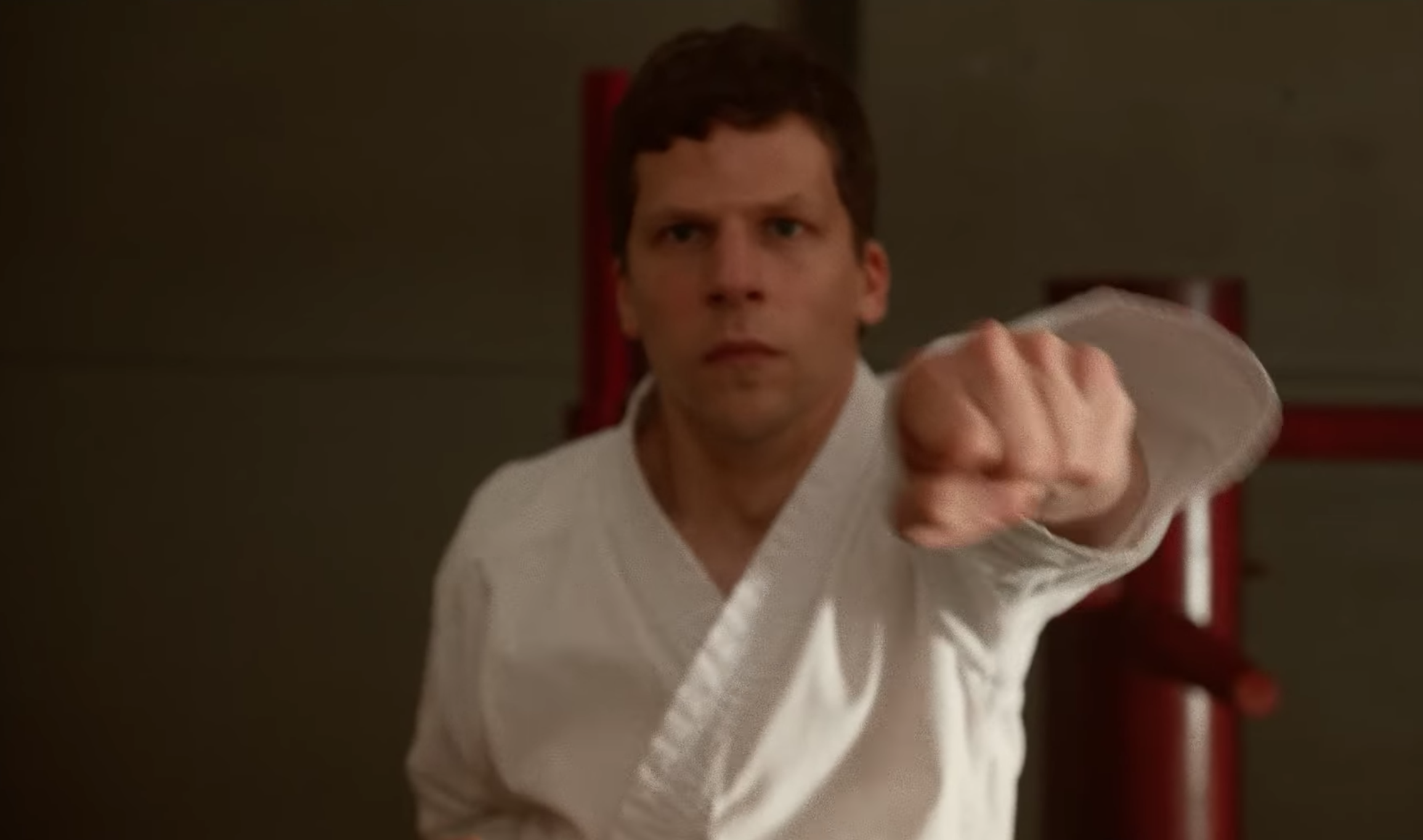Jesse Eisenberg Knows His Characters Are Arrogant, But They're Never the Joke