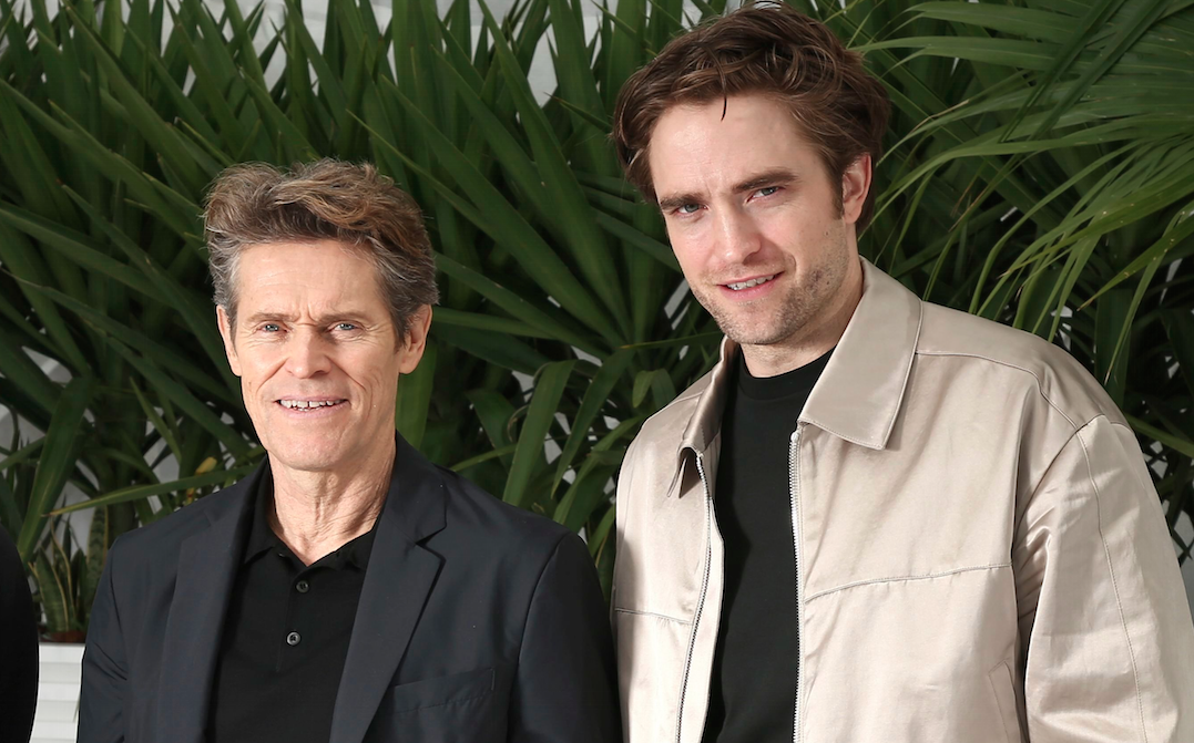 Willem Dafoe Says 'Lighthouse' Co-Star Robert Pattinson Has the Perfect Chin to Play Batman
