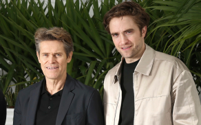 Willem Dafoe and Robert Pattinson