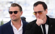 Leonardo DiCaprio and Quentin Tarantino