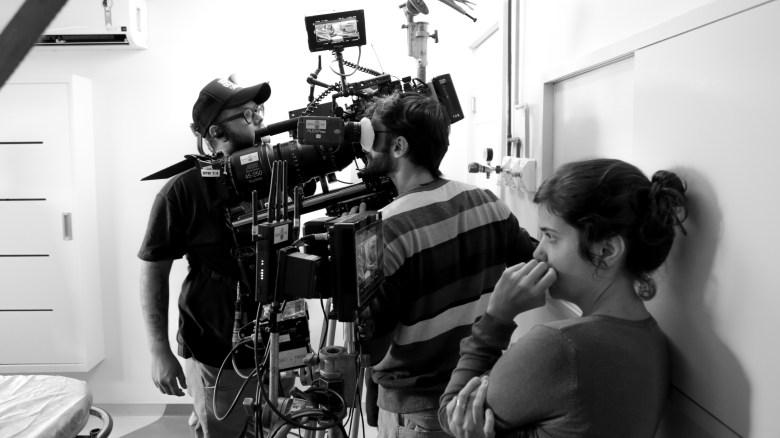 """Sick Sick Sick"" cinematographer Felipe Quintelas and director Alice Furtado"