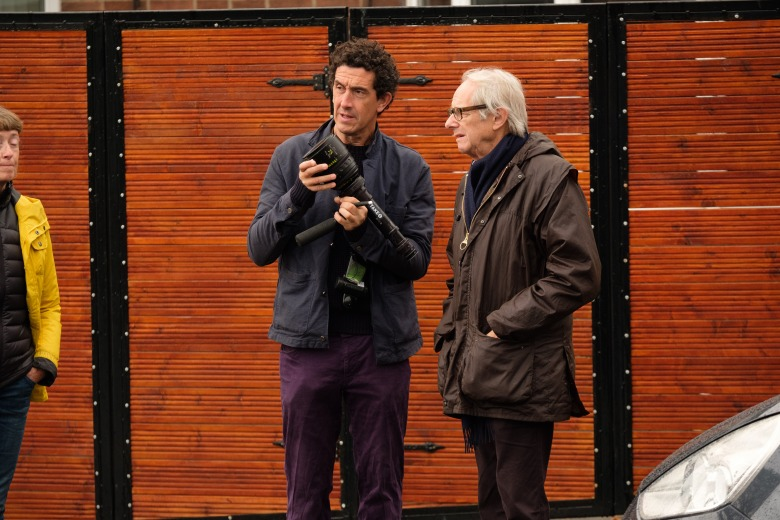 """Sorry We Missed You"" Cinematographer Robbie Ryan and director Ken Loach"
