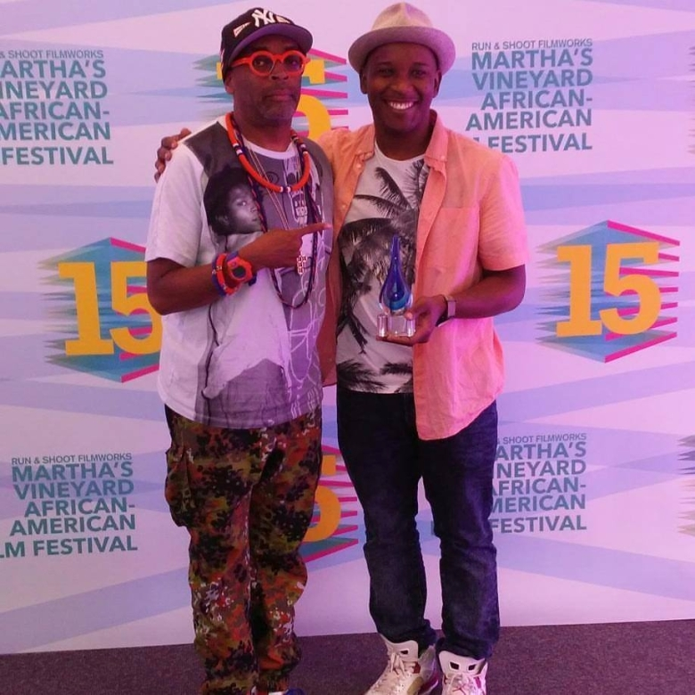 Spike Lee and Stefon Bristol