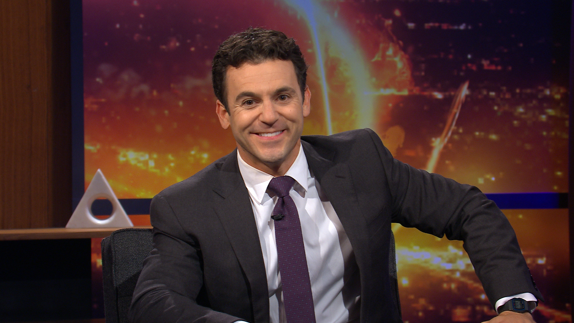 Fred Savage in WHAT JUST HAPPENED??! WITH FRED SAVAGE on FOX. ©2019 Fox Media LLC CR: FOX